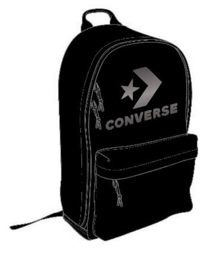 Converse unisex EDC 22 CONVERSE BLACK METALLIC GUNMETAL hátizsák ... 6502b4db5b