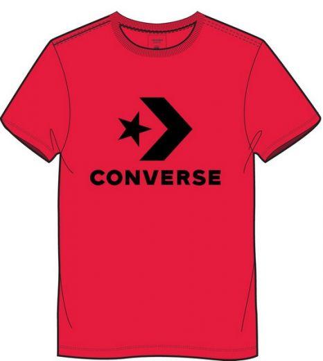 Converse férfi CONVERSE STAR CHEVRON TEE RED póló 11ab3ac647