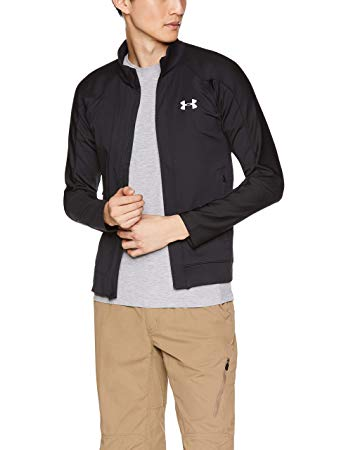 Under armour férfi COLDGEAR RUN KNIT JACKET zip pulóver