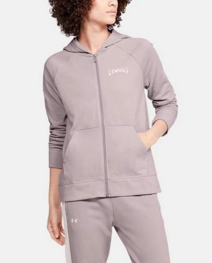 Under armour nõi RIVAL TERRY FZ HOODIE zip pulóver
