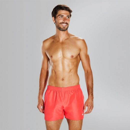 Speedo férfi FITTED LEIS 13 WSHT AM RED short