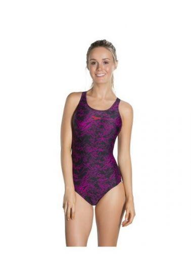 Speedo női BOOM ALOV MSBK AF BLACK PINK úszódressz 8-10818B388 ... acbfbb80ba
