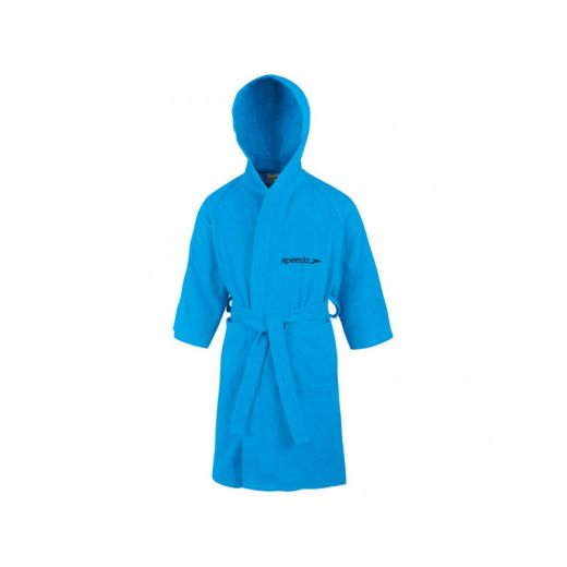 Speedo gyerek BATHROBE MICROTERRY JBLUE köntös