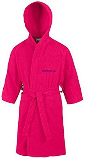 Speedo gyerek BATHROBE MICROTERRY RASPBE köntös