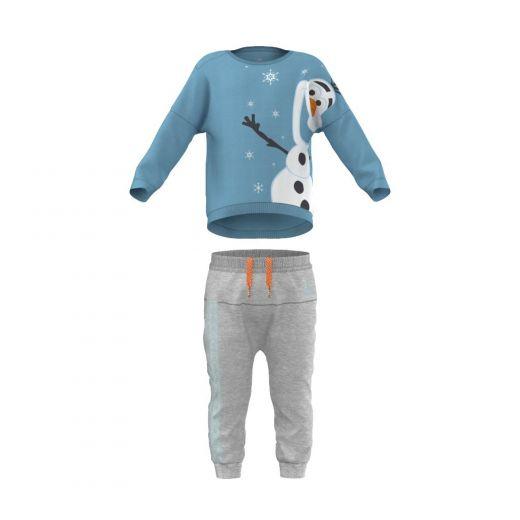 cb9d991f3213 Adidas bébi TO DYQ OLAF LS melegítő AY6049 outlet sportbolt és ...