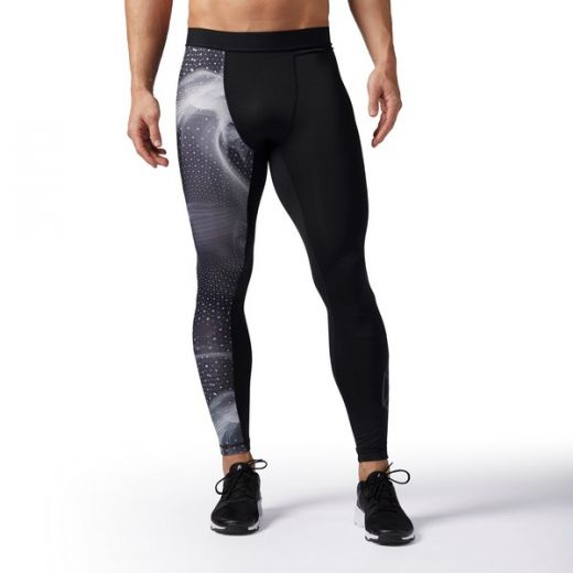 Reebok férfi COMPRESSION TIGHT - leggings-fitness/futás