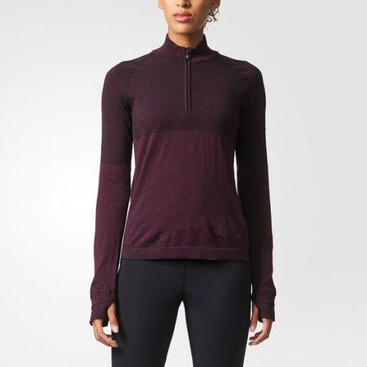 Adidas női CLMHT PK ZIP W hosszú ujjú póló