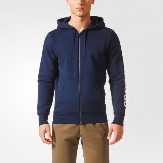 ec393ec00e Adidas férfi ESS LIN FZHOODB zip pulóver BQ9639 outlet sportbolt és ...