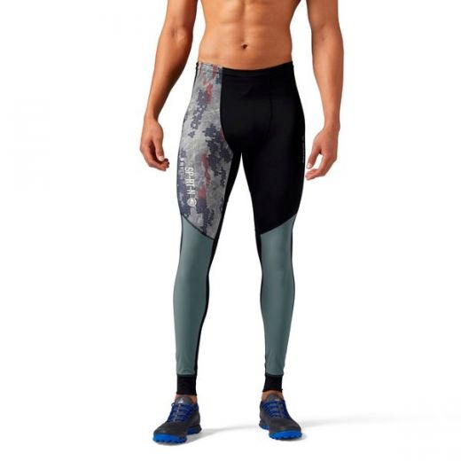 Reebok férfi SRM COMP TIGHT leggings-fitness/futás