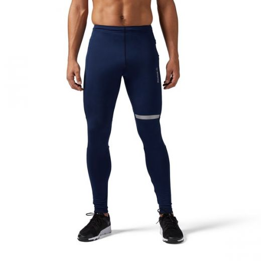 Reebok férfi RUN TIGHT leggings-fitness/futás