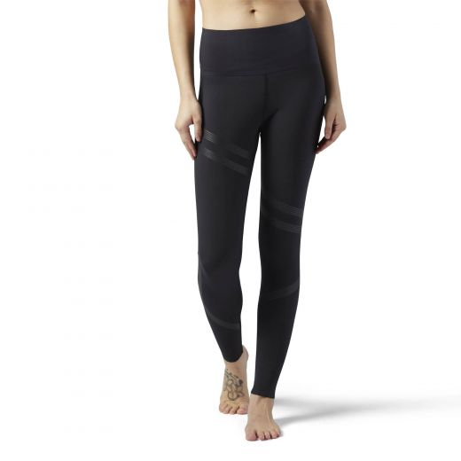Reebok nõi LINEAR HIGH RISE TI leggings-fitness/futás