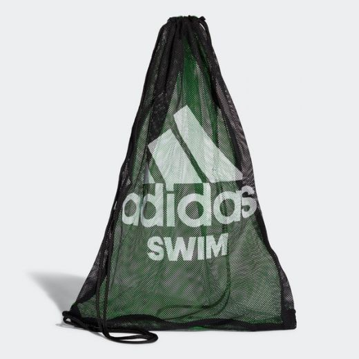Adidas unisex SWIM MESH BAG       BLACK/FLAGRN/WHITE tornazsák