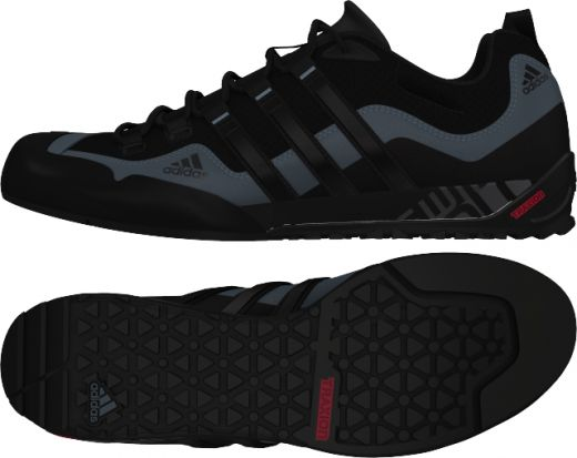 Adidas férfi TERREX SWIFT SOLO   BLACK1/BLACK1/LEAD outdoor-cipõ