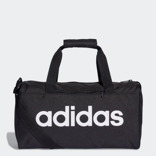 023bbf5158 Adidas unisex LIN CORE DUF XS BLACK/BLACK/WHITE utazótáska - sport ...
