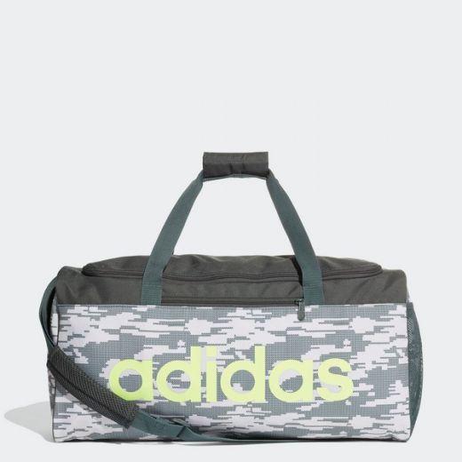 43dd30c7bb Adidas unisex LIN CORE DUF MG RAWWHT/LEGIVY/HIREYE utazótáska - sport