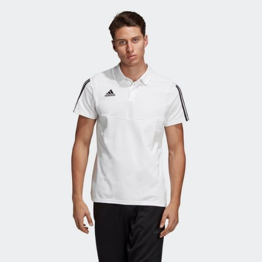Adidas férfi TIRO19 CO POLO      WHITE/BLACK póló