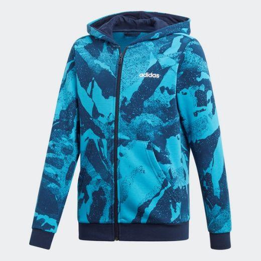 a04289c45c Adidas gyerek YB E AOP PR FZ zip pulóver DV1788 outlet sportbolt és ...