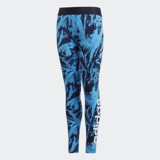 Adidas lányka YG E AOP TIGHT leggings-fitness/futás