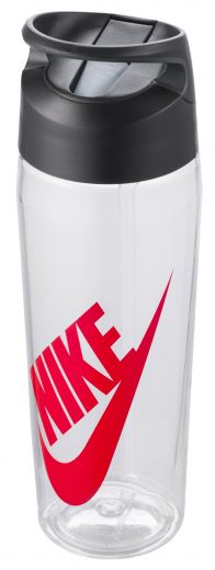 Nike unisex NIKE TR HYPERCHARGE STRAW BOTTLE GRAPHIC 24 OZ CLEAR/ANTHRAC kulacs