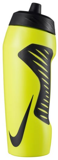 Nike unisex NIKE HYPERFUEL WATER BOTTLE 24OZ LEMON VENOM/BLACK/BLACK/BLA kulacs