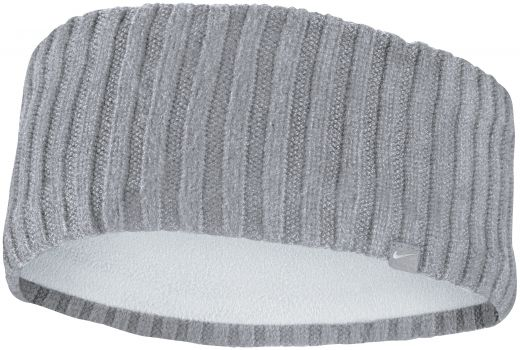 Nike unisex NIKE KNIT WIDE HEADBAND ATMOSPHERE GREY/VAST GREY/SILVER OSF fejpánt