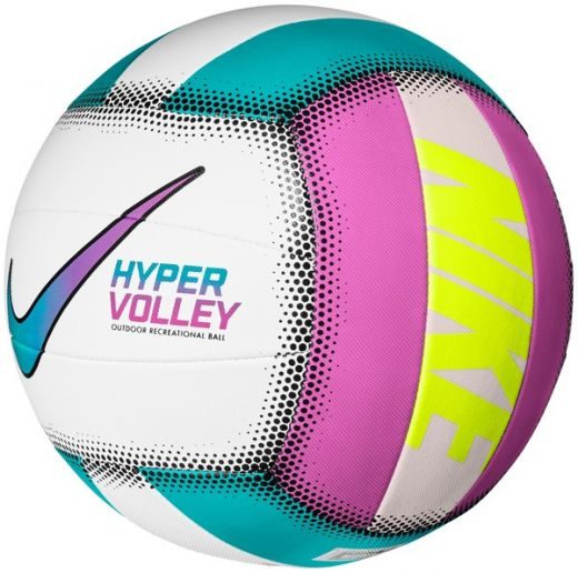 Nike unisex NIKE HYPERVOLLEY 18P ORACLE AQUA/FIRE PINK/WHITE/SPEED YELLO labda