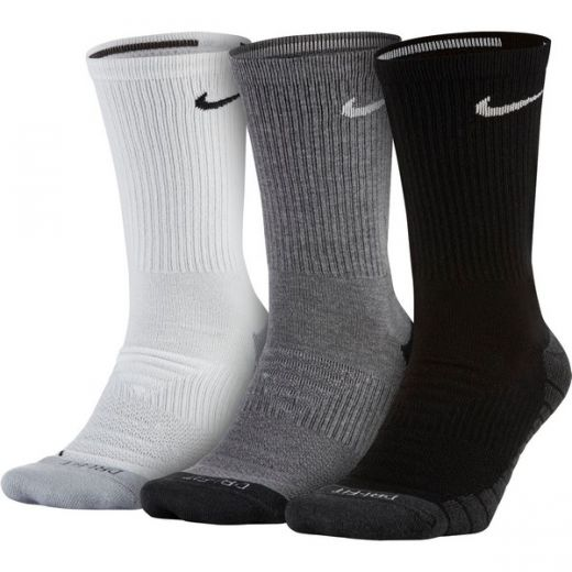 Nike unisex EVERYDAY MAX CUSHION CREW TRAINING SOCK (3 PAIR) zokni